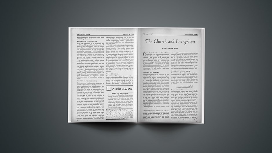 The Church and Evangelism