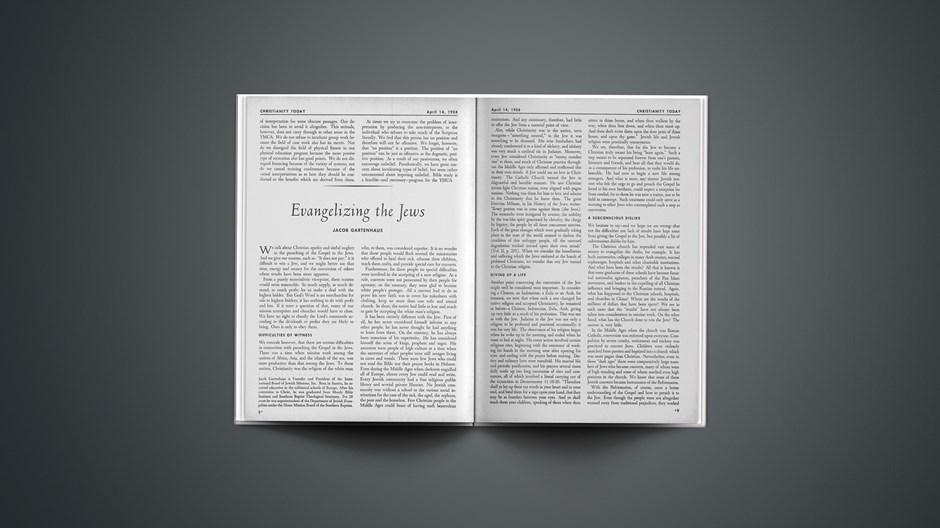 Evangelizing the Jews