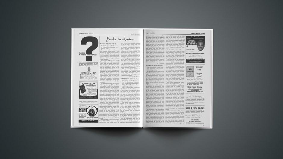 Book Briefs: April 28, 1958