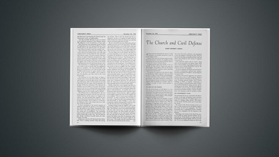 The Church and Civil Defense