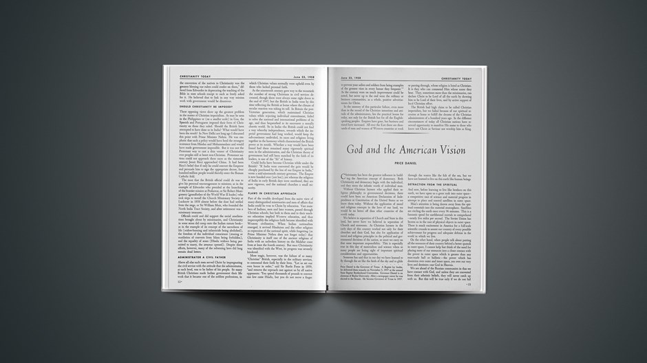 God and the American Vision