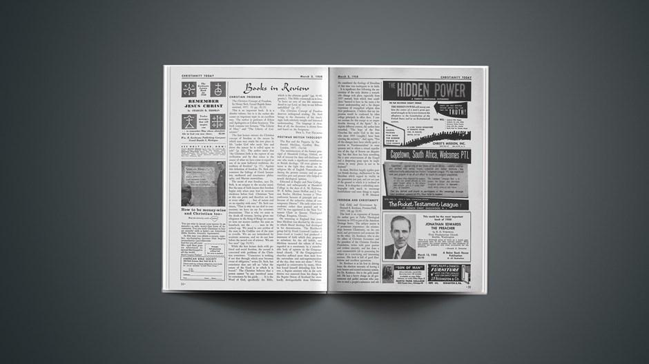 Book Briefs: March 3, 1958