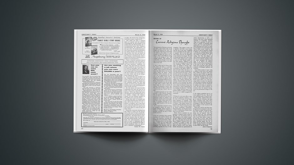 Review of Current Religious Thought: March 03, 1958