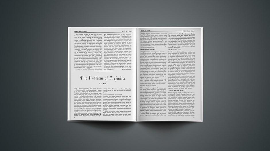 The Problem of Prejudice