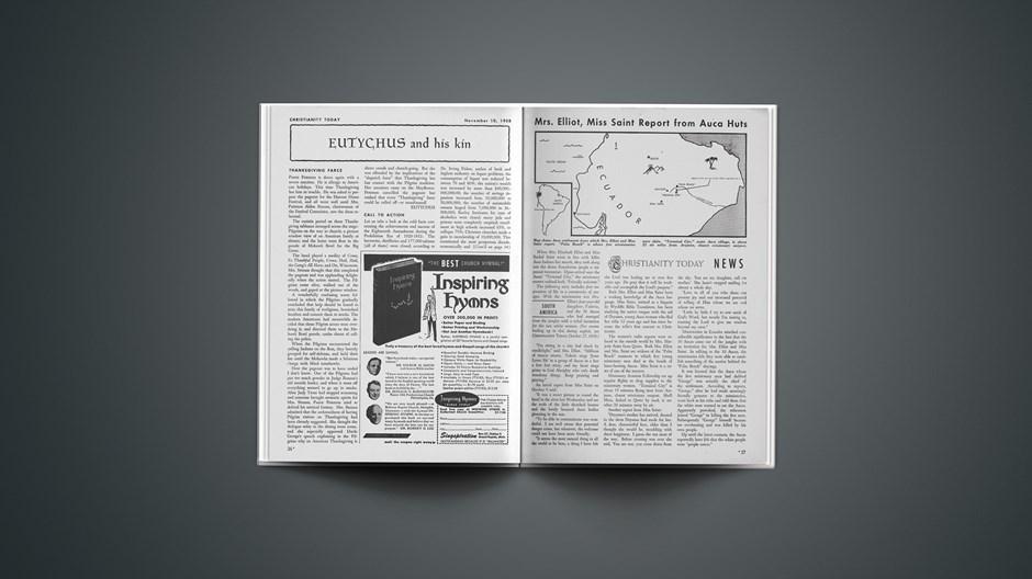 South America News: November 10, 1958
