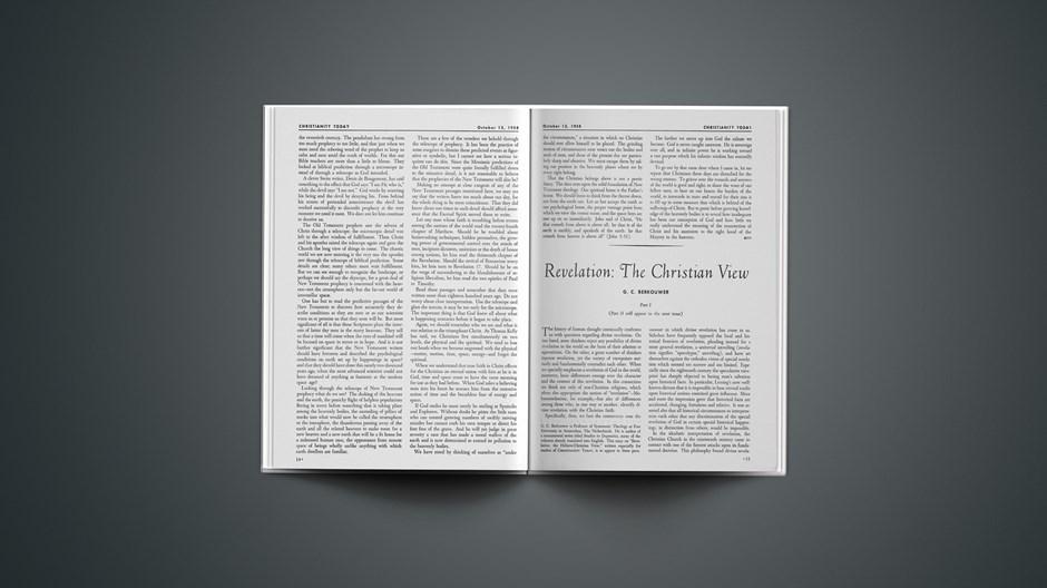 Revelation: The Christian View