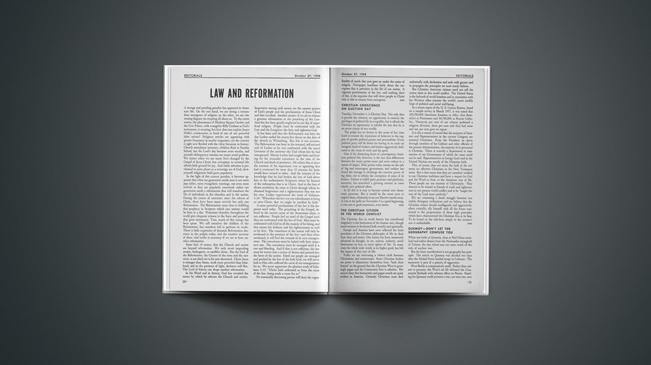 Law and Reformation