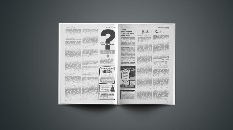 Book Briefs: October 27, 1958