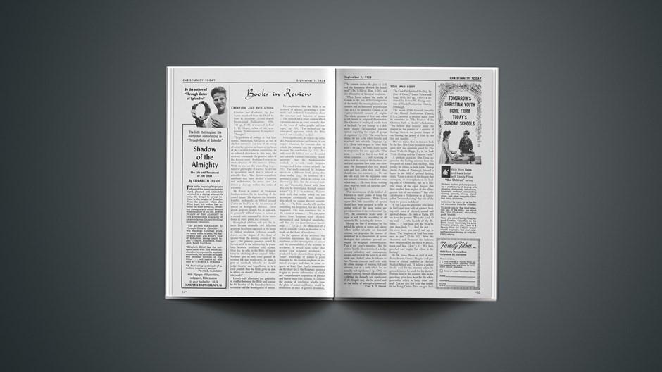 Book Briefs: September 1, 1958