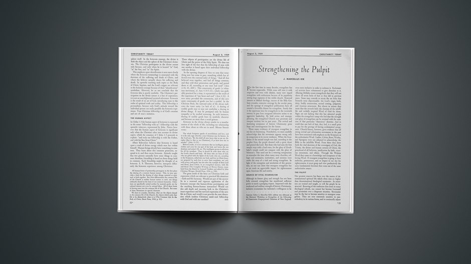 Strengthening the Pulpit