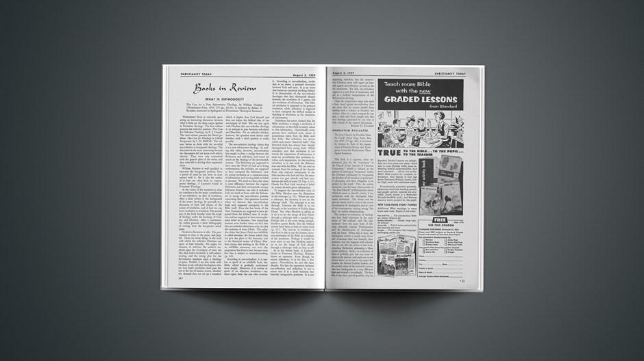 Book Briefs: August 3, 1959