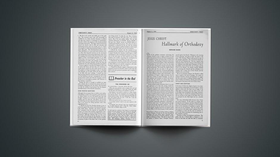 Jesus Christ: Hallmark of Orthodoxy