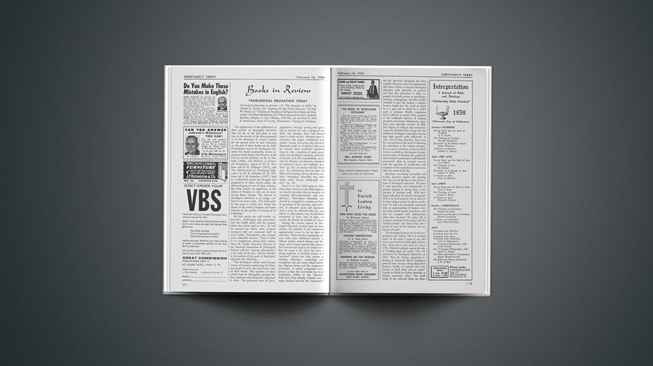 Book Briefs: February 16, 1959