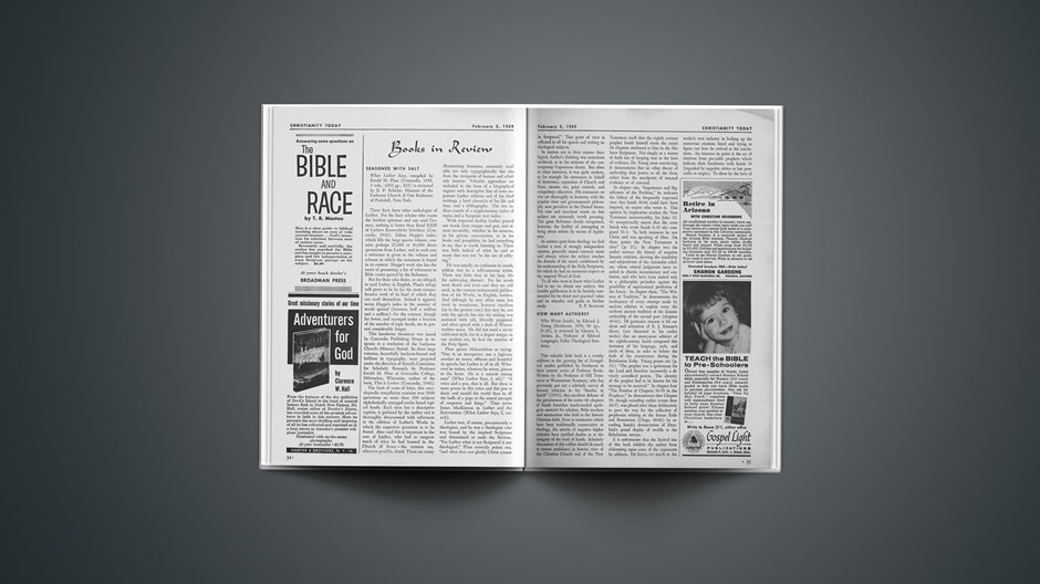 Book Briefs: February 2, 1959