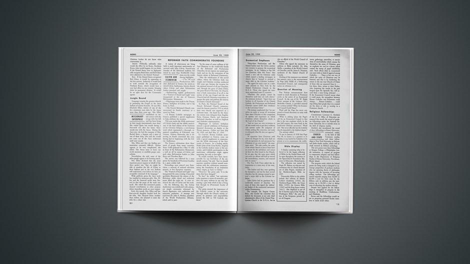 Reformed Faith Commemorates Founding