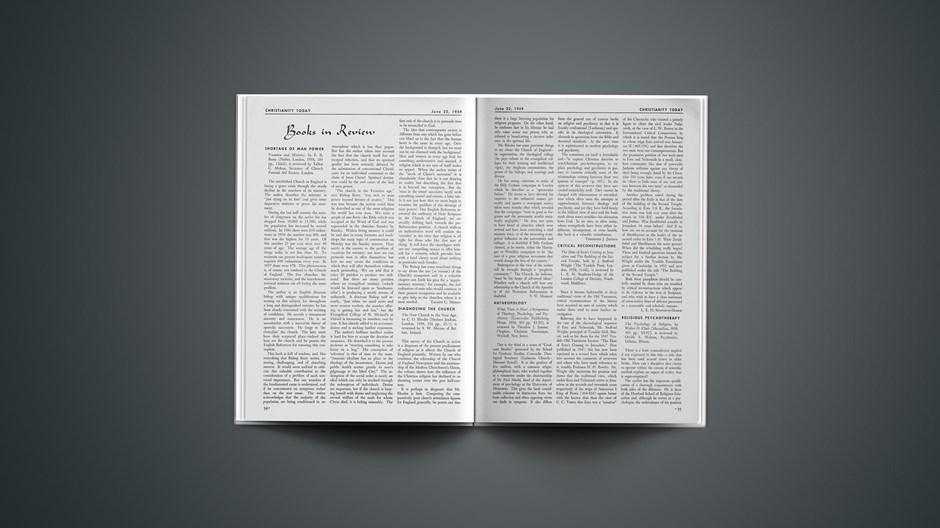 Book Briefs: June 22, 1959