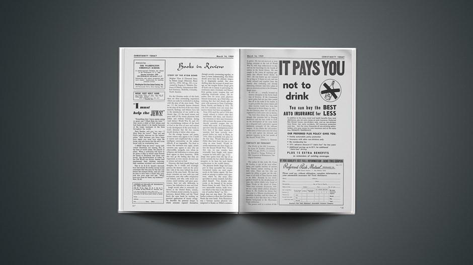 Book Briefs: March 16, 1959