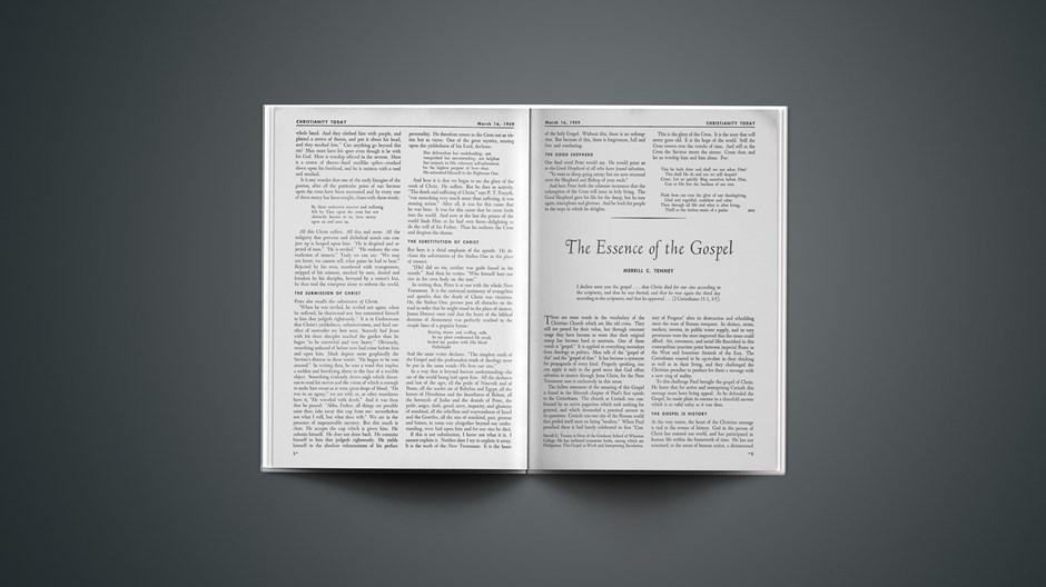 The Essence of the Gospel