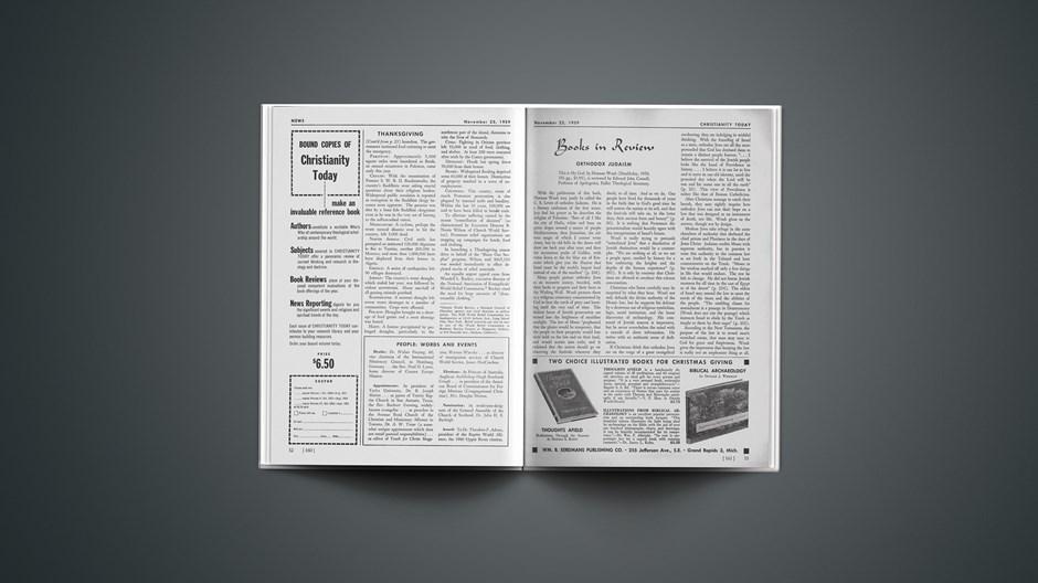 Book Briefs: November 23, 1959