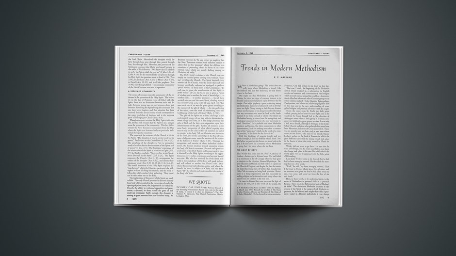Trends in Modern Methodism