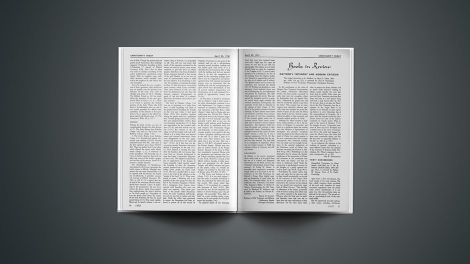 Book Briefs: April 24, 1961