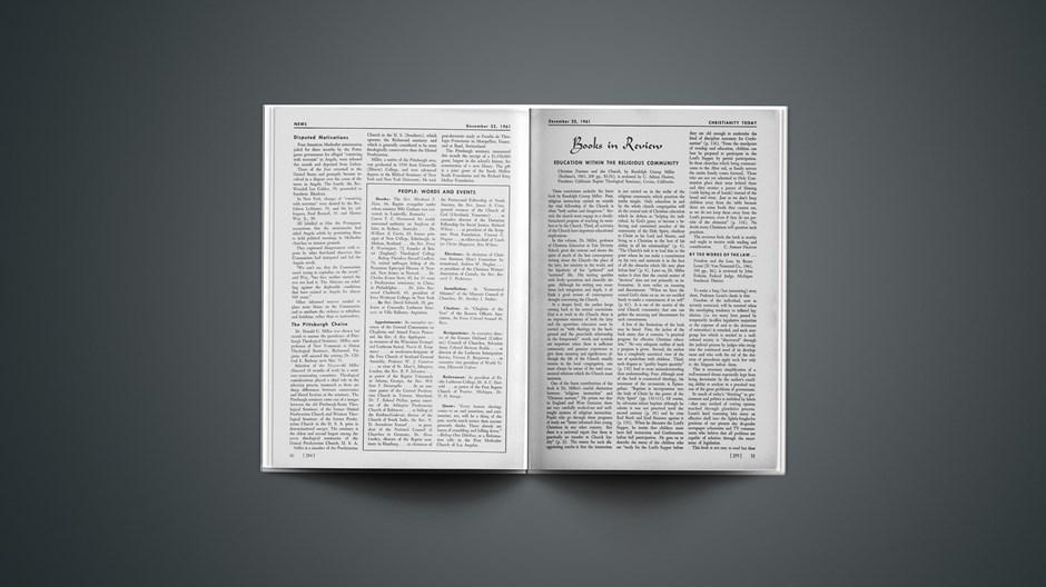 Book Briefs: December 22, 1961