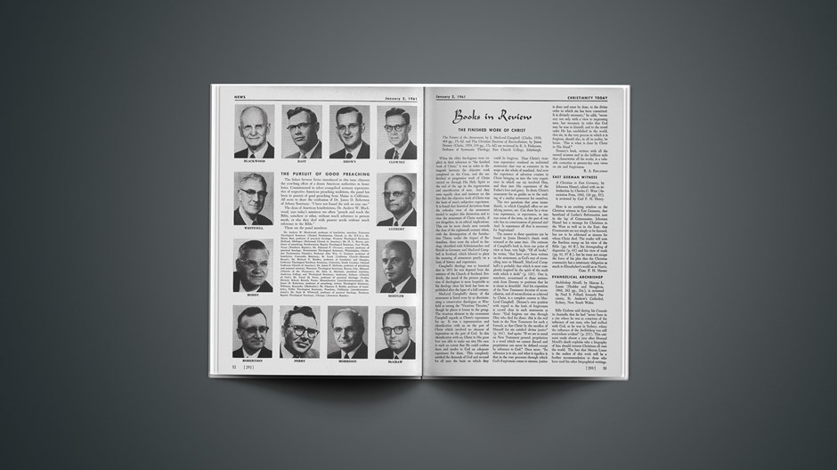 Book Briefs: January 2, 1961