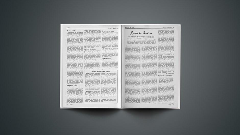 Book Briefs: January 30, 1961