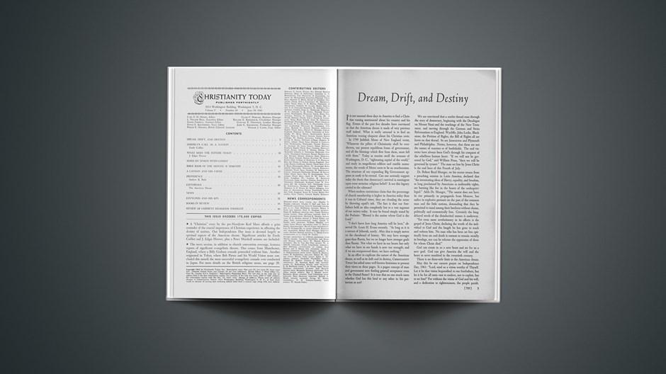 Dream, Drift, and Destiny