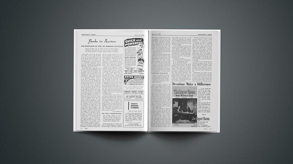 Book Briefs: June 19, 1961