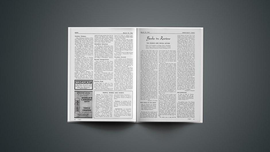 Book Briefs: March 13, 1961