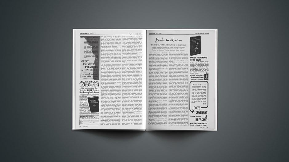 Book Briefs: September 25, 1961