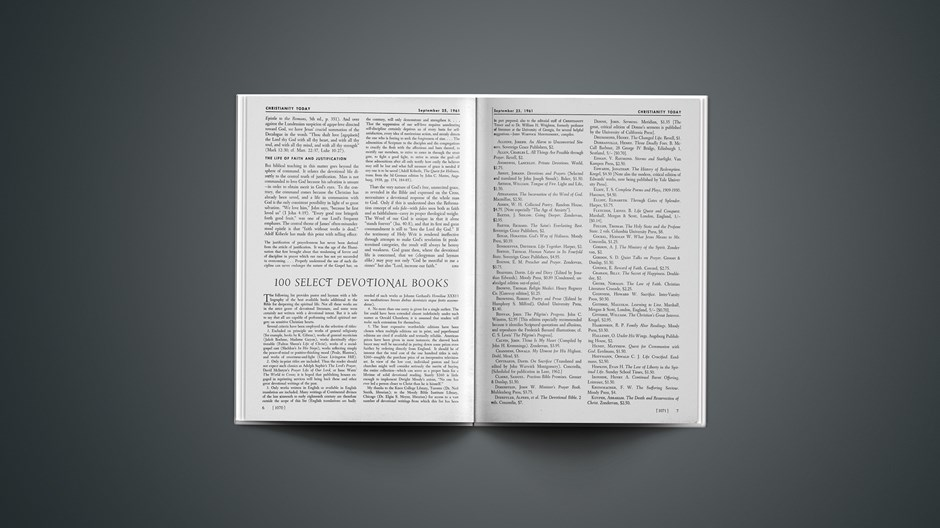 100 Select Devotional Books
