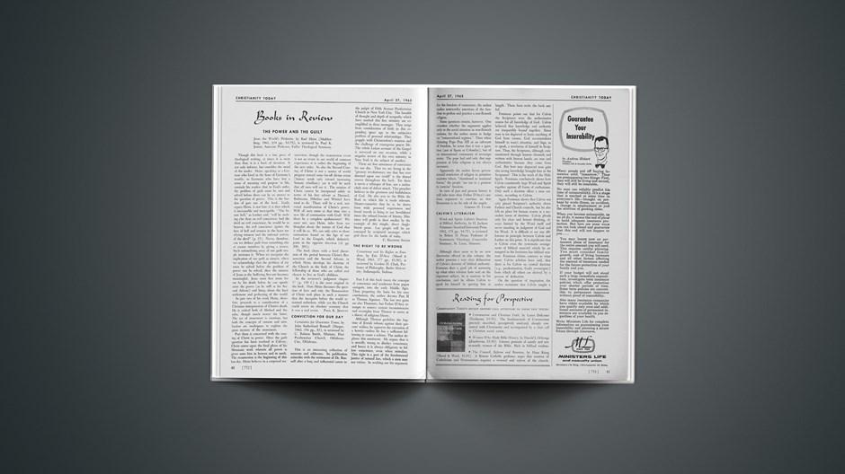 Book Briefs: April 27, 1962