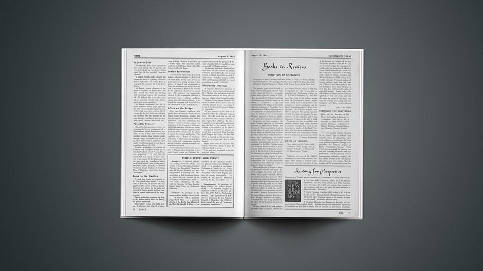 Book Briefs: August 3, 1962