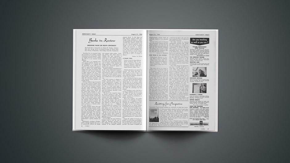 Book Briefs: August 31, 1962