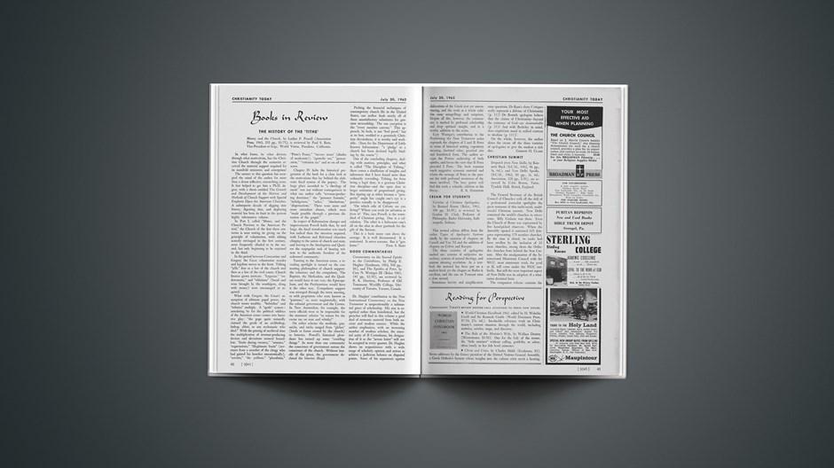 Book Briefs: July 20, 1962