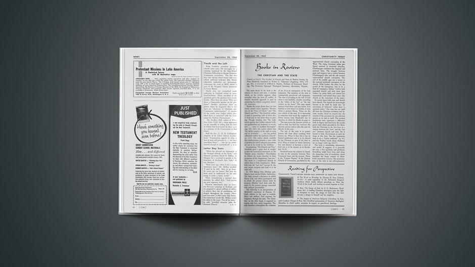 Book Briefs: September 28, 1962