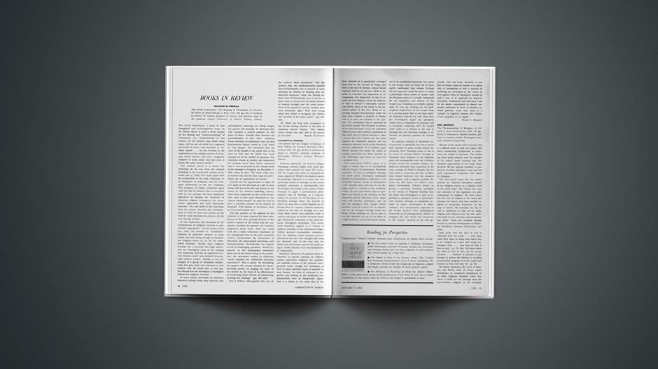 Book Briefs: January 17, 1964