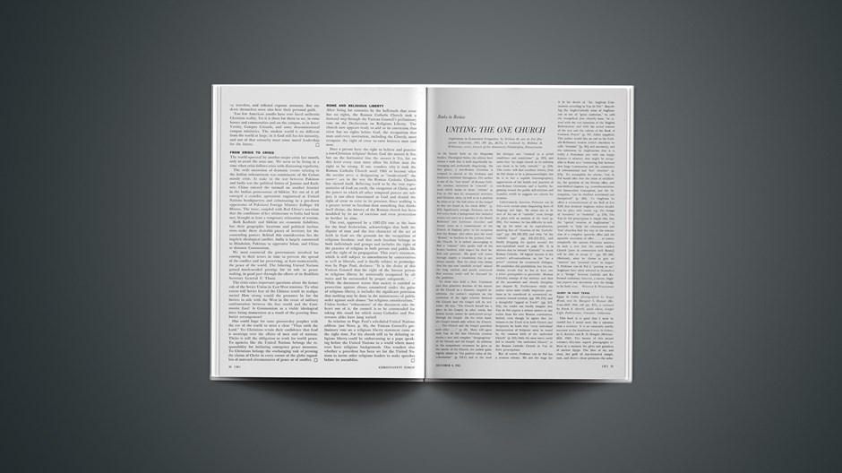 Book Briefs: October 8, 1965
