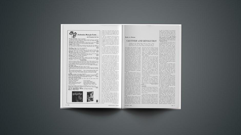 Book Briefs: January 7, 1966