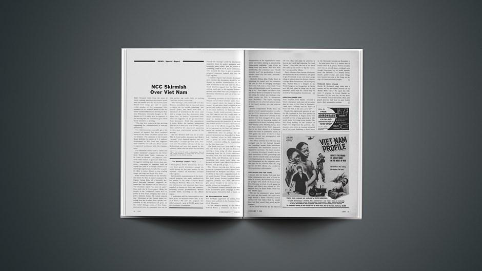 NCC Skirmish over Viet Nam