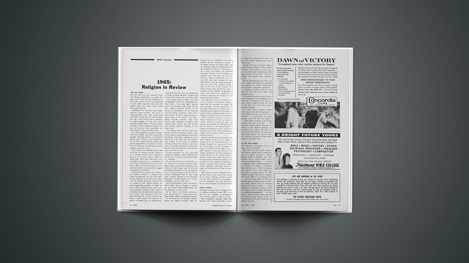 1965: Religion in Review