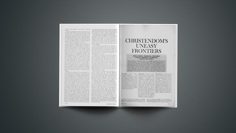 Christendom's Uneasy Frontiers