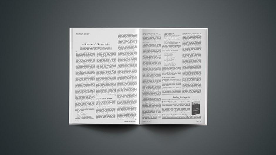 Book Briefs: March 31, 1967