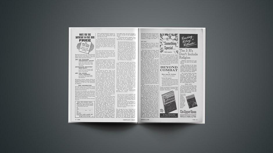 Book Briefs: August 16, 1968