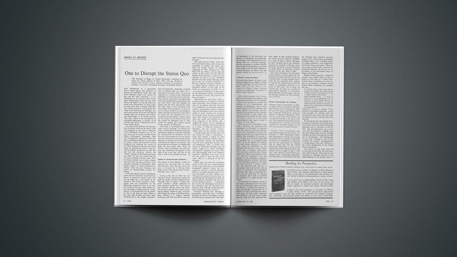 Book Briefs: February 16, 1968