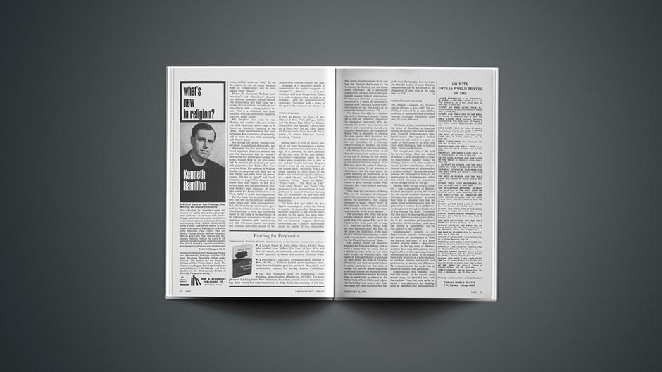 Book Briefs: February 2, 1968