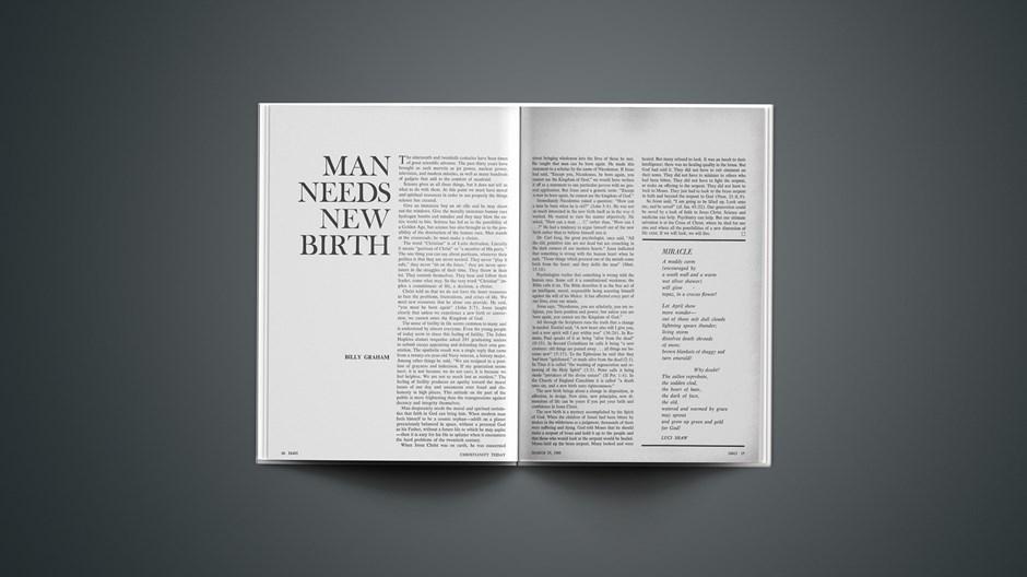 Man Needs New Birth
