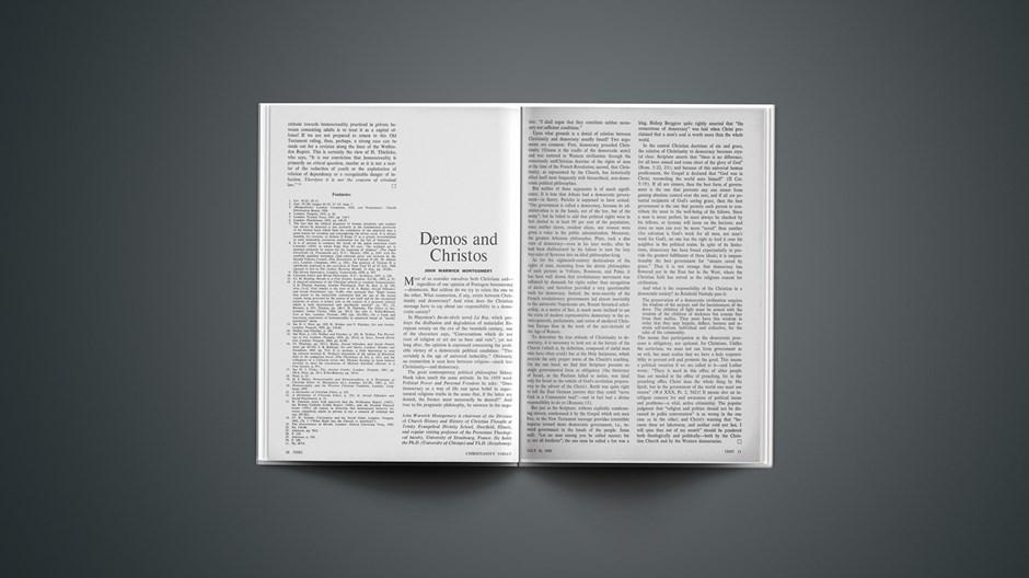 Demos and Christos
